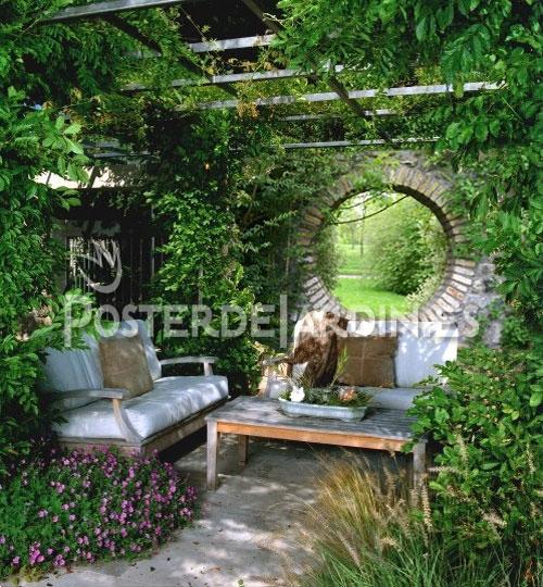 Vea algunos ejemplos que ilustran c mo un lienzo puede for Ejemplos de jardines